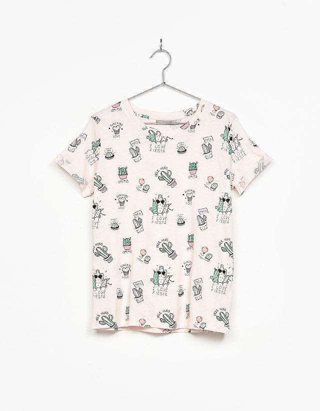 Camisetas de mujer - Primavera 2017 | Bershka España