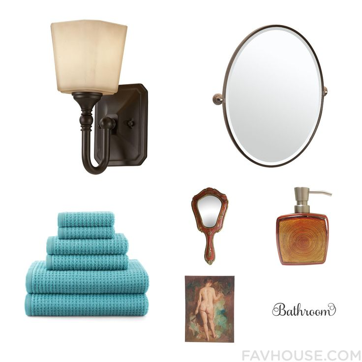 Interior Design Advices With Home Decorators Collection Wall Light Contemporary Bathroom Accessories Jcpenney Home Bath Towel And Wooden Hand Mirror From October 2016 #home #decor