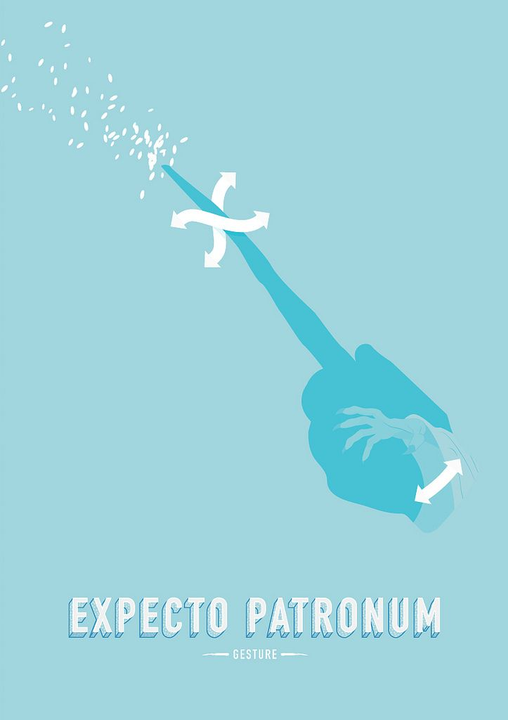 Harry-Potter-Wizard-Gestures-Expecto-Patronum