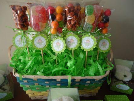 canastas de dulces bebes - Buscar con Google