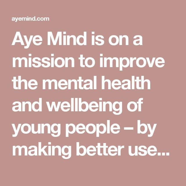 Aye Mind is on a mission to improve the mental health and wellbeing of young people – by making better use of the internet, social media and mobile technologies. We are working with young people aged 13 to 21 to create and share a wide range of resources. We're also making a digital toolkit for all who work with young people too, to boost their ability to promote youth wellbeing.