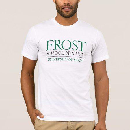Frost School of Music Logo T-Shirt - click to get yours right now!