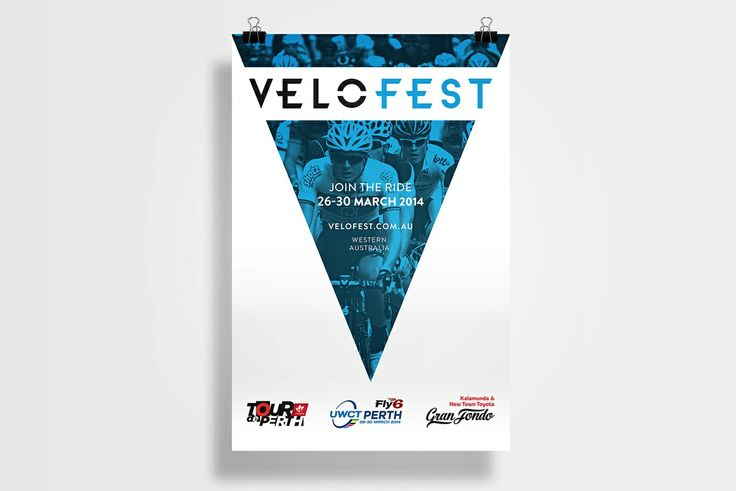Velofest Poster - with The Cut
