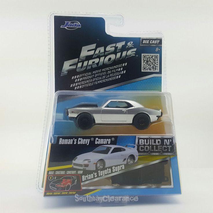 1:55 Roman's Silver Chevy Camaro 2015 JADA Fast & Furious Build N Collect #JadaToys #Chevrolet