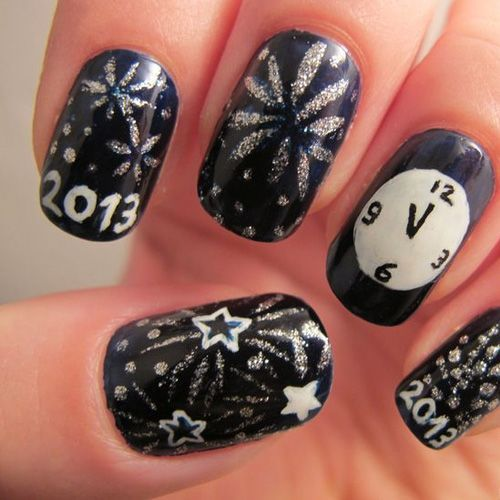 It's that time of year again! Time to forget all about this year and move forward to next year! What better way to kick off the new year by sporting some New Years Nails? Starting the new yea…