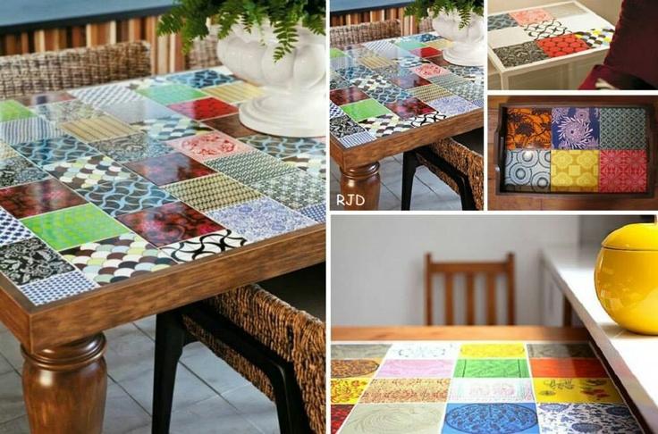 Mesa + azulejos