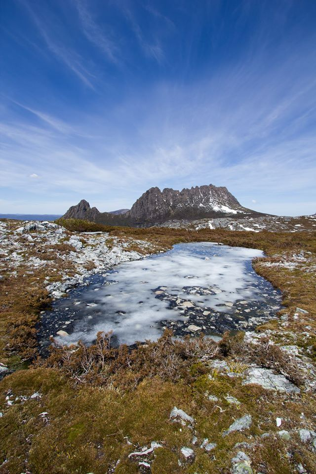 The pinnacle of Tasmanian wilderness is the Overland Track located in the Cradle Mountain National Park. A steep climb follows a nice winding stroll around Dove Lake, to the top of Marion's Lookout. All the strenuous activity is well worth it in the end, with panoramic views of the entire National Park. #nationalpark #cradlemountainn #tasmania #discovertasmania Image Credit: Thomas Gray
