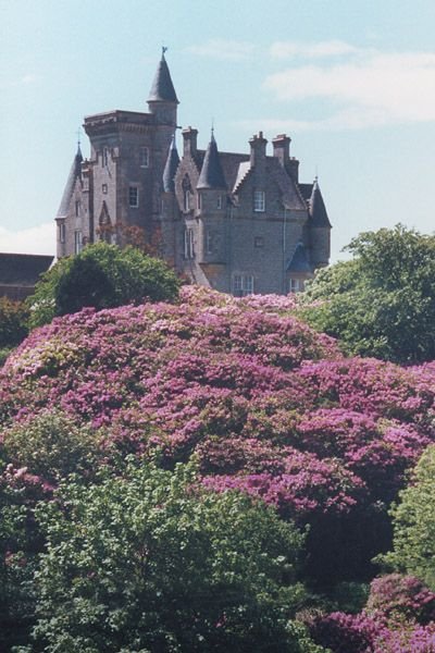 Glengorm Castle... Tobermory, Isle of Mull, Scotland.