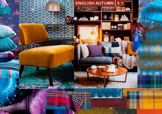 mood board from milou ket interiors - Warm Interiors Design Home Color