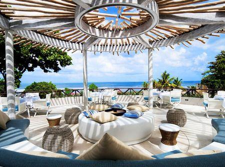 Cocoon Restaurant, Bar and Beach Club @ Seminyak, Bali, Indonesia.