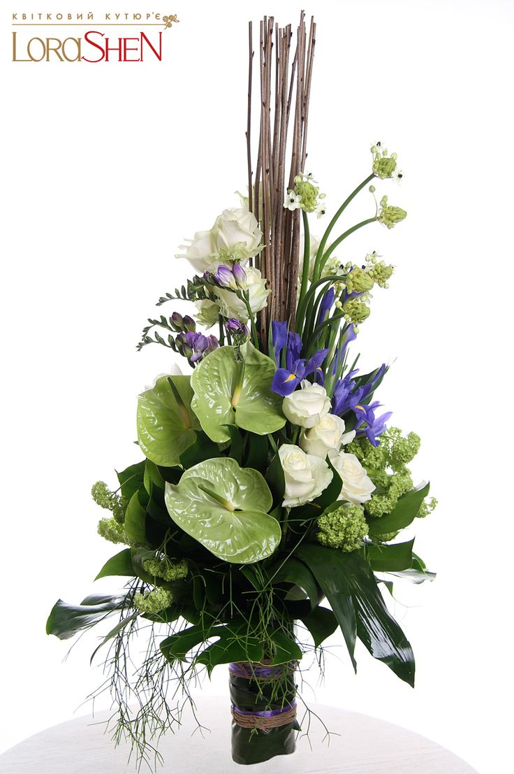 04161 — Lorashen #anthurium floral arrangement