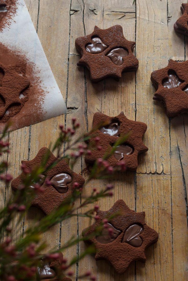 La asaltante de dulces: Receta de galletas de centeno y Nocilla/ Rye andoNocilla cookies recipe