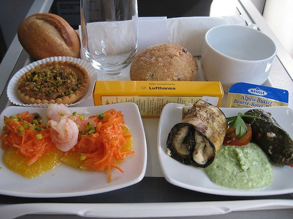 Buzzfeed Showcases Airplane Meals from All Around the World #food #travel trendhunter.com