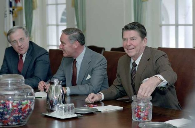When he demanded Jelly Bellies everywhere he went.   Ronald Reagan's 31 Most YOLO Moments