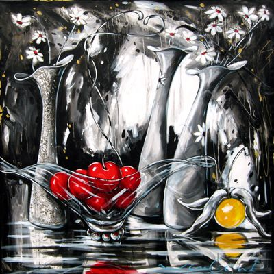 Daniel Vincent, l'artiste aux cerises
