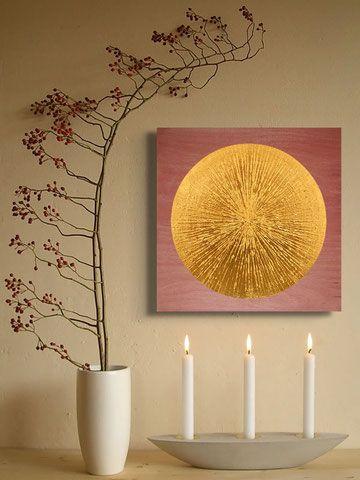 Meditationsbild Sonne für Deine Meditationsecke zu Hause