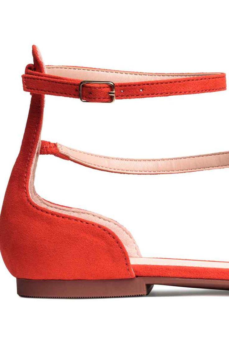Sandali - Rosso corallo - DONNA | H&M IT