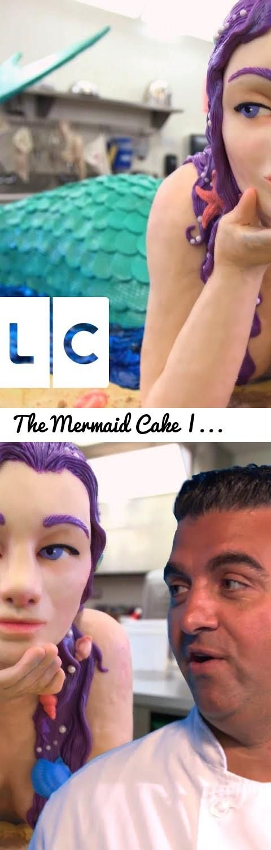 The Mermaid Cake | Cake Boss... Tags: reality tv, tlc uk, tlc, Cake boss, cake boss full episode, cake, new york, buddy, tasty, cream, icing, mermaid, fish, shark week, shark week