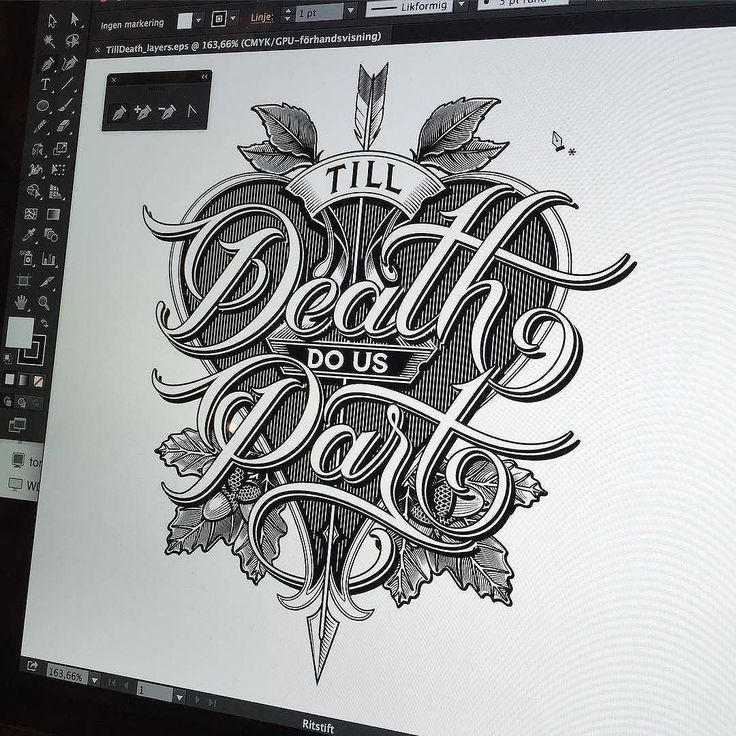 Amazing vector work by @schmetzer | #typegang if you would like to be featured | typegang.com by type.gang