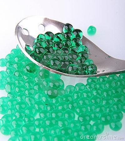 Mint caviar