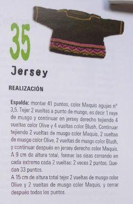 El mundo de los nenucos: Jersey para los nenucos