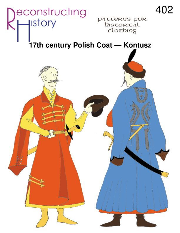 17th Century Kontusz | 18th Century Kontusz | Polish Kontusz pattern
