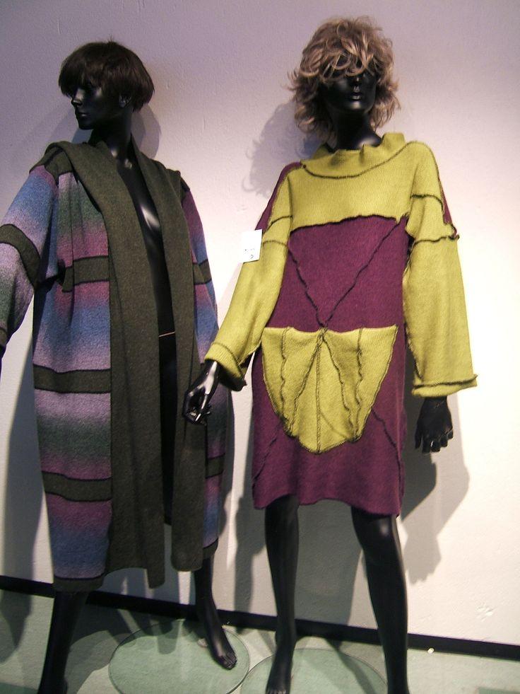 Tovet genser og kåpe