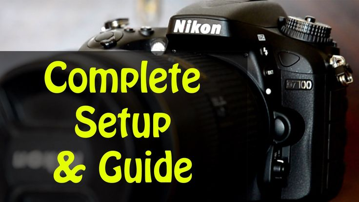 This video explains what every button and key mention function does. Set up your D7100 with ease, and get your gear out and start shooting! ThatNikonGuy has ...