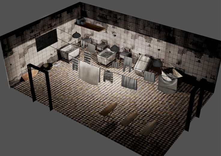 Project Discord - Indie Video Game ~ Laundry Room