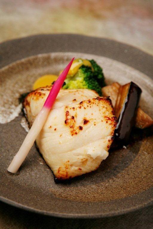 Japanese Food Gindara Saikyo Yaki - Grilled filet of black cod marinated in Saikyo miso paste|銀だら西京焼き