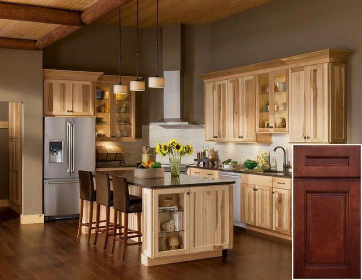 Resources on - are pickled oak cabinets coming back. # ...