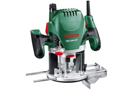 Bosch POF 1400 ACE, portaaton nopeudensäätö. testivoittaja jyrsin n. 155e