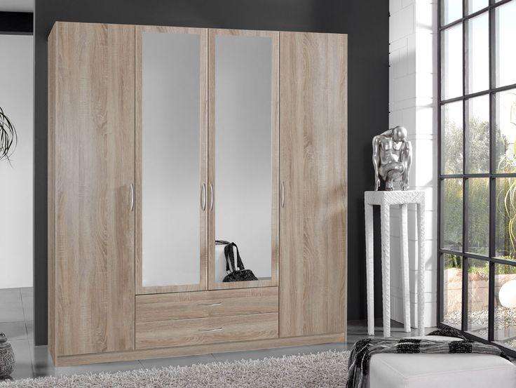 Kleiderschrank spiegel modern  Pinterest'teki 25'den fazla en iyi Schrank mit spiegel fikri ...