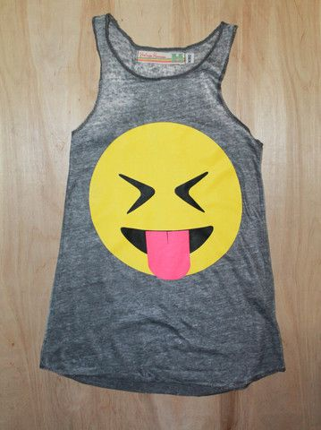 Emoji Tank – Moon Child Boutique