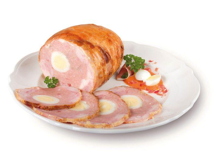 Pollo relleno de jamón y queso. Producto al corte. #NavidadGourmet