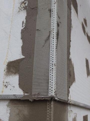 Toile de verre et enduit cimenté pour finir - Isolation thermique