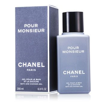 Chanel Pour Monsieur Bath & Shower Gel 200ml/6.7oz - http://aromata24.gr/chanel-pour-monsieur-bath-shower-gel-200ml6-7oz/
