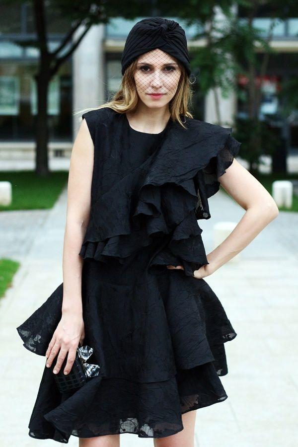 Dana Rogoz in PARLOR! #parlor #ready #dress #fashion