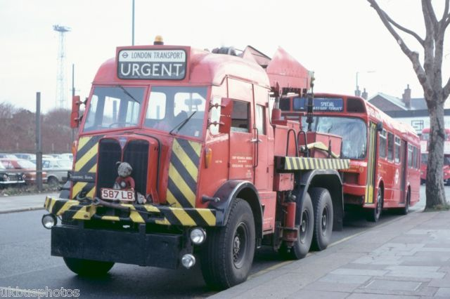 London Transport Recovery 1457MR LS444 Cricklewood 1981 Bus Photo | eBay