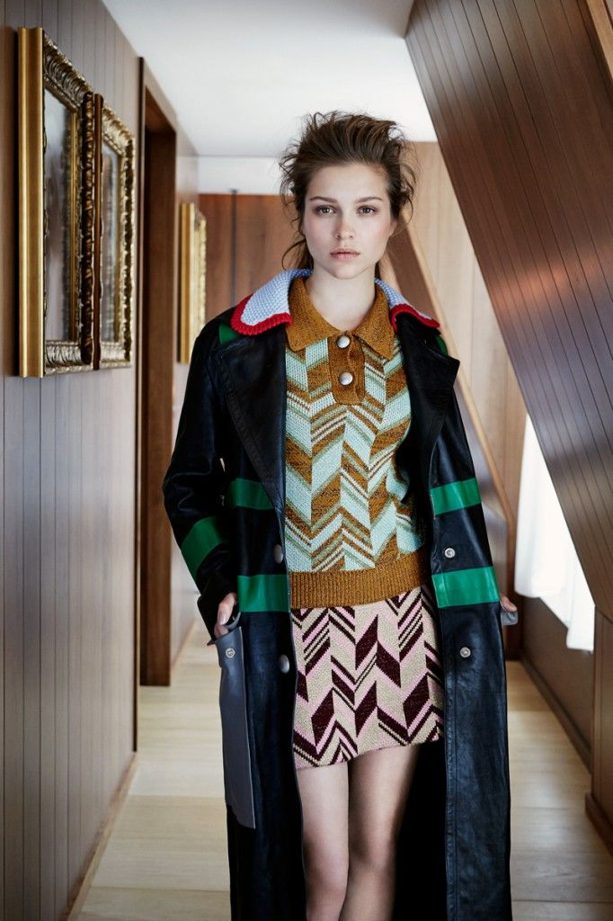 Sophie Cookson in Miu Miu Fall 2014 for Flaunt Magazine by Olgaç Bozalp