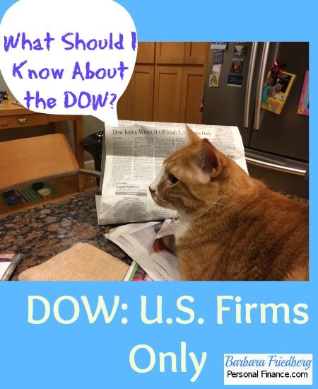 The DOW-What Everybody Ought To Know | Barbara Friedberg-What is the Dow Jones Industrial Average (DJIA)? DOW 30 Companies