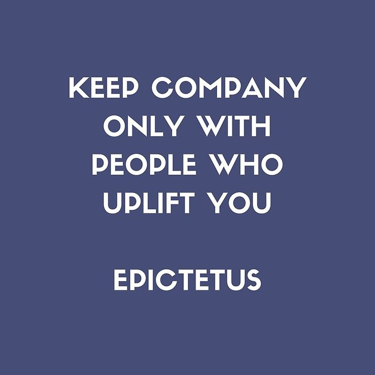 'Stoic Philosophy Wisdom – Epictetus – Keep company only with people who uplift you' Art Print by IdeasForArtists