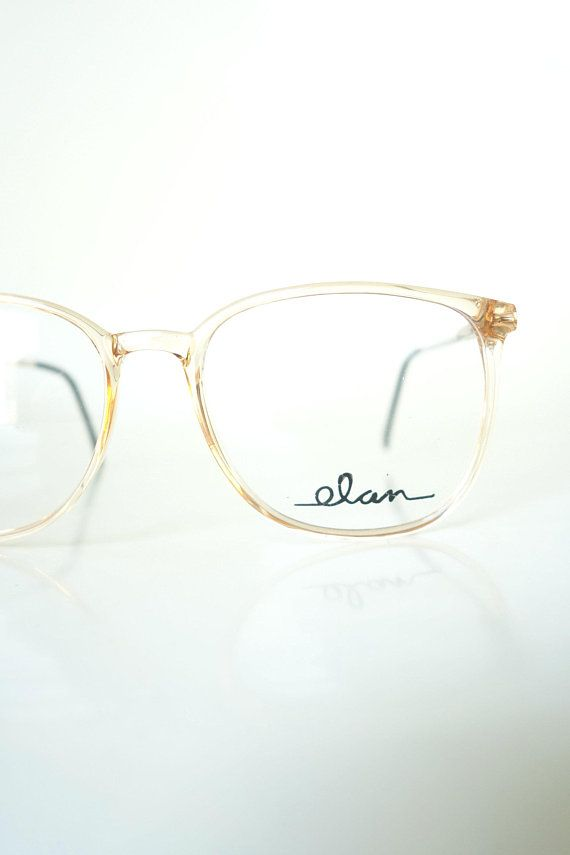 676e833f1b 1980s Clear Eyeglasses Womens Wayfarer Oversized Fake Glasses Fake Glasses