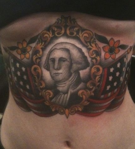 For a real President's Day tattoo tribute check out this George ...