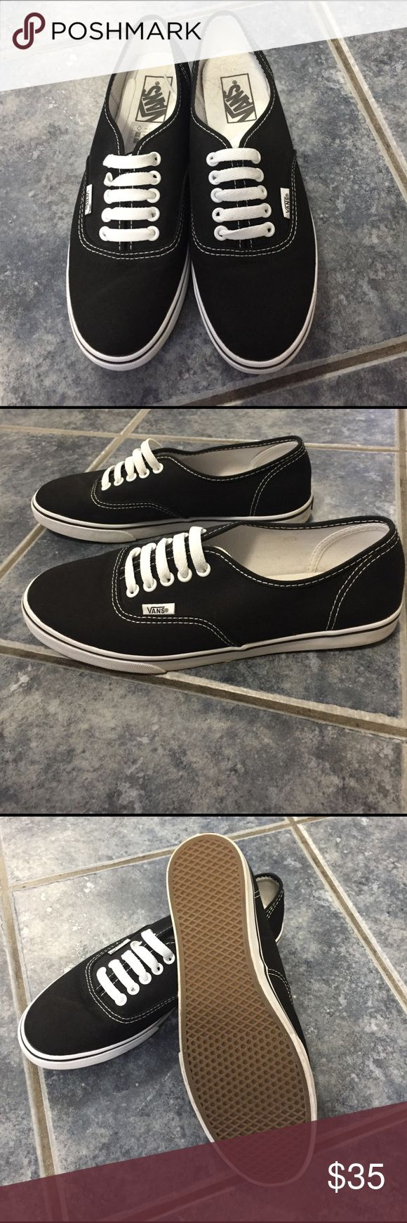 Brand. New Vans women's Brand new Black Vans women's size 8.5 Vans Shoes Sneakers