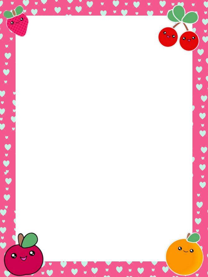free printable stationary border paper free printable floral border ...