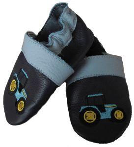 Traktoros kék Szofi puhatalpú cipő