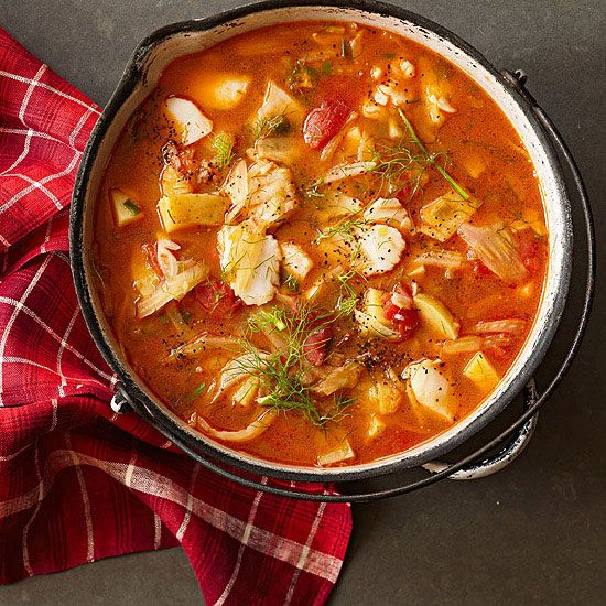 Ladle up one of our steamy stews tonight like our Mediterranean Seafood Stew! Click on the image to get this recipe and 22 more!