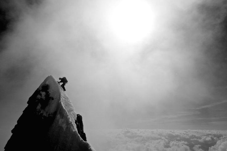 Innominata ridge Mt Blanc | Kivik Francois