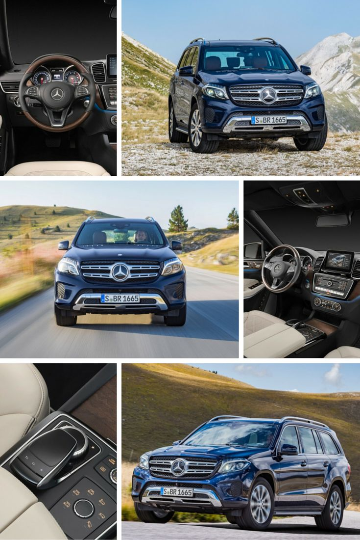 Mercedes-Benz has introduced the 2017 GLS-Class, a new model that replaces the GL.My OTHER choice of Graduation Car after Bo is done w/hand surgeries.